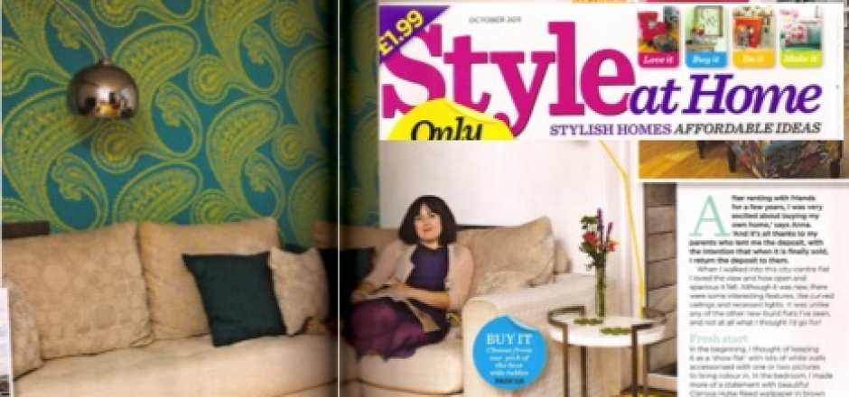 Style at Home Magazine: Featuring Me!