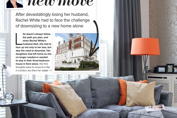 Our client's home featured in Woman and Home Magazine