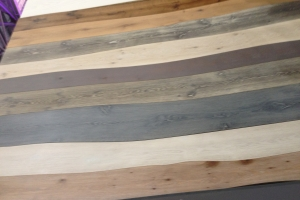 Getting creative with wood flooring