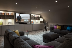 Nick and Mel's stunning Cinema Room
