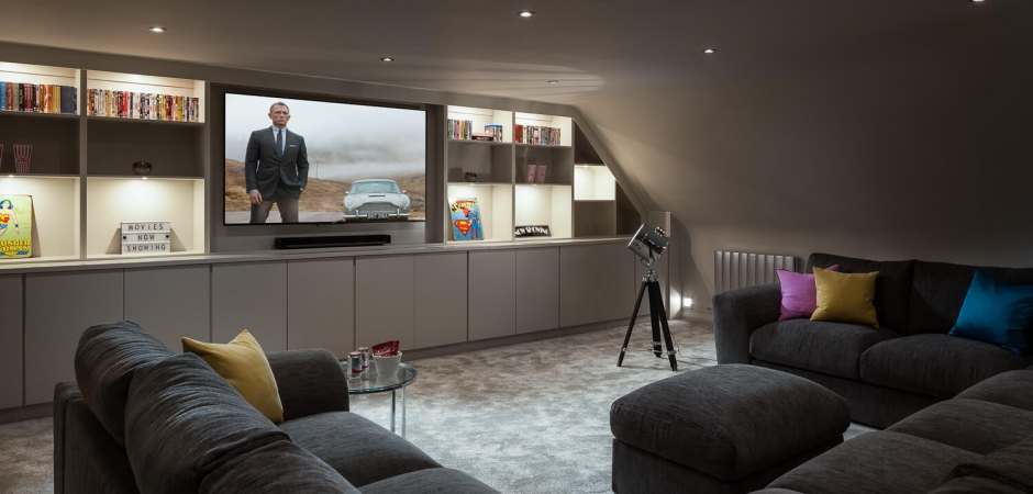 Cinema Room and Family Room Kent Surrey