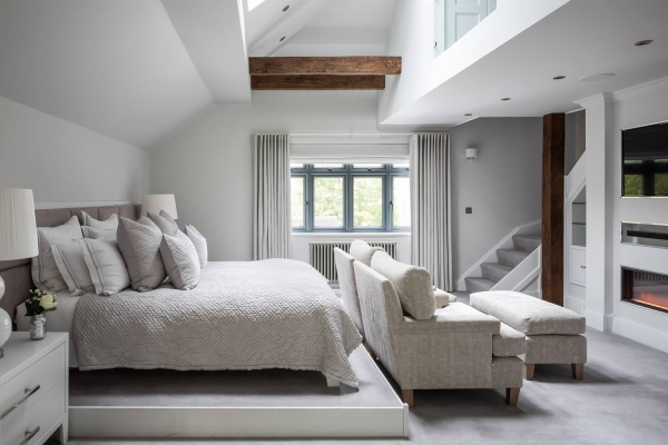 Sam and George – Master Bedroom and Ensuite