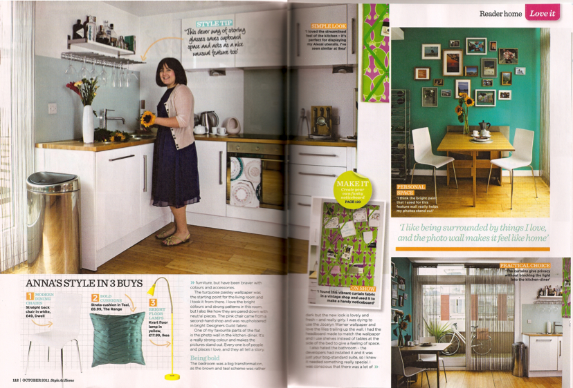furnishedanna in the press - style at home magazine