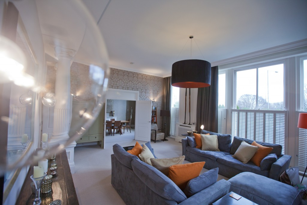 Contemporary Tunbridge Wells Living Room