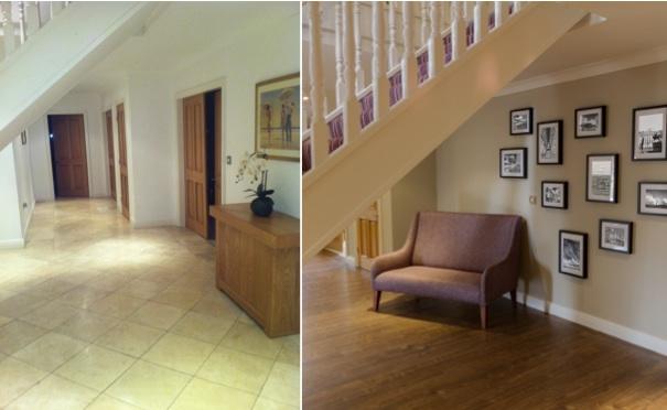 Hallway Before & After Design
