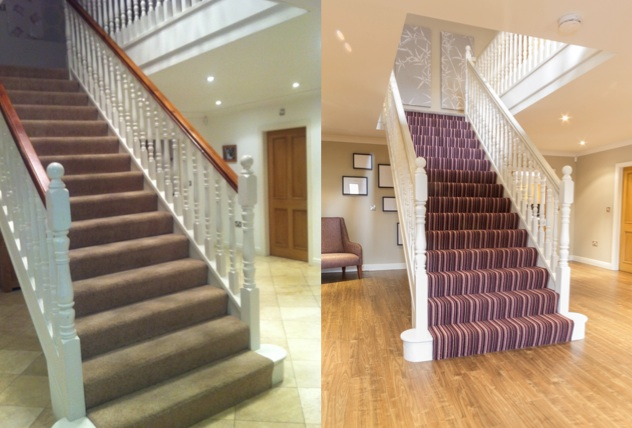 Before & After Stairway Design