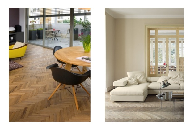 Herringbone Wood Flooring London