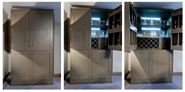 Bespoke Bar Unit Cabinet Tunbridge Wells