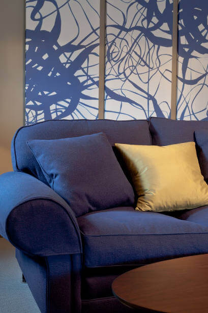 Vibrant Lounge Interior Design